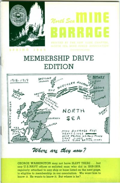 North Sea Mine Barrage Journal, Vol. 3 No. 1, Spring 1945