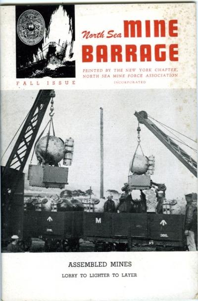 North Sea Mine Barrage Journal, Vol. 2 No. 3, Fall 1944